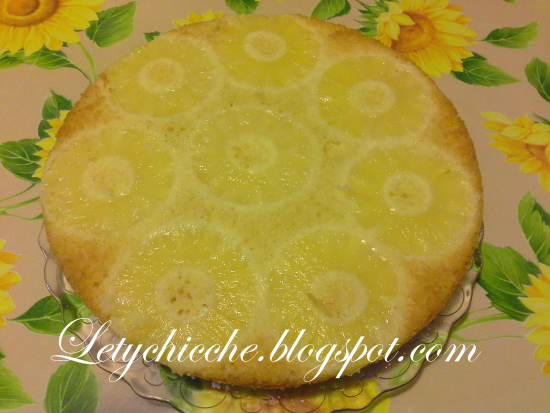 Torta all'ananas - Letychicche