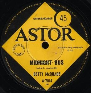 Betty McQuade Bobby Bobby Bobby