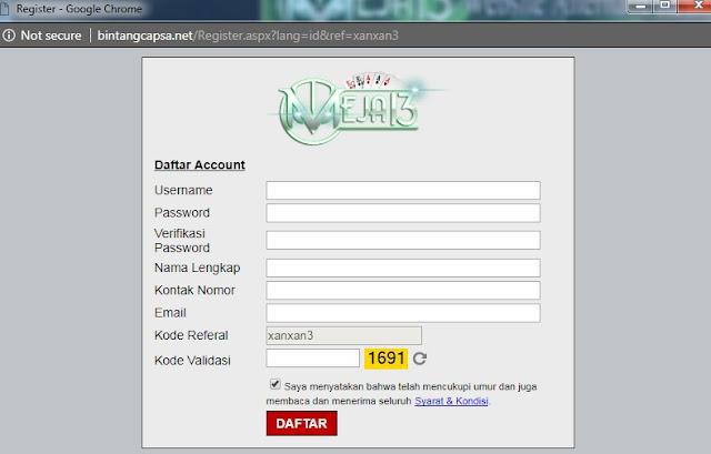 Daftar Judi Online Meja13
