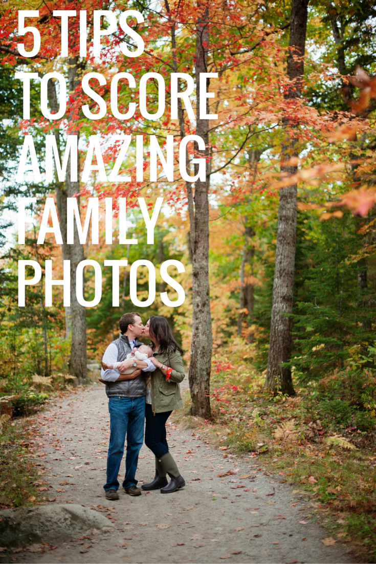 5 Tips to Score Amazing Family Photos