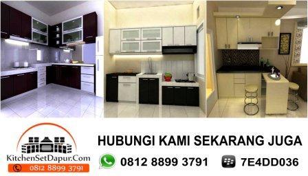 kitchen set murag di bogor, cimanggu, kemang