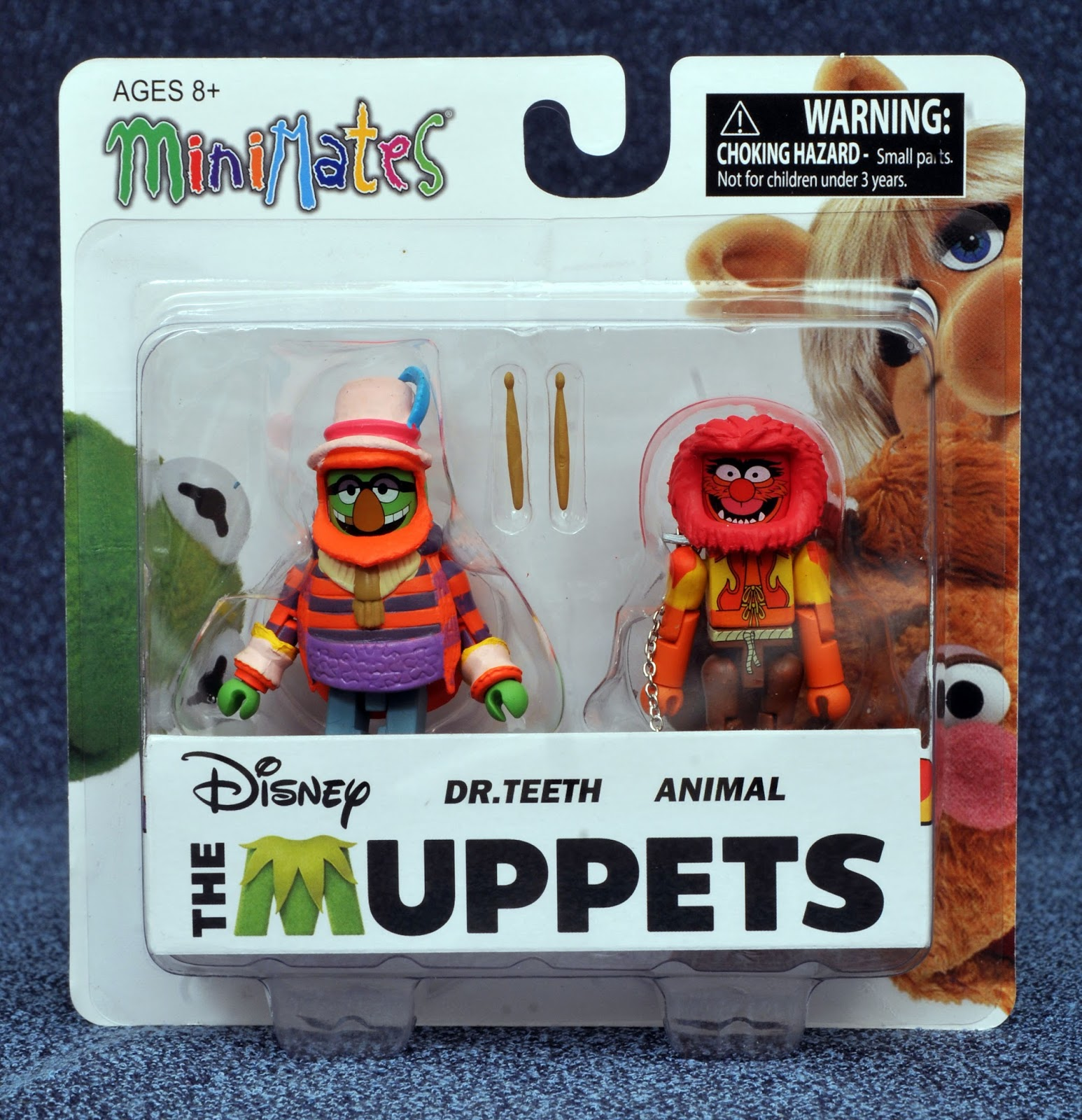 Series 2 of Muppets Minimates spotlights even more characters from across  the Muppets' long timeline. Available at comic shops and specialty stores,  ...