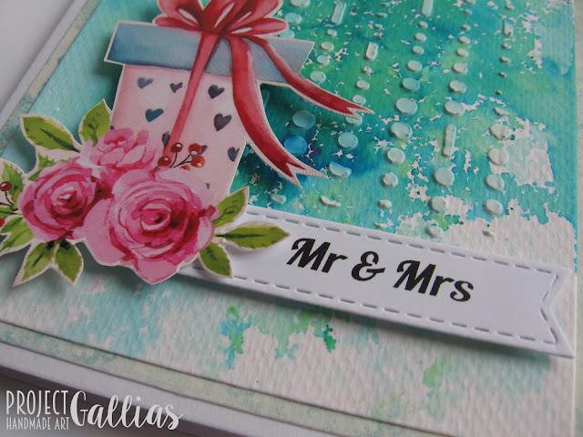 Nietypowa kartka ślubna