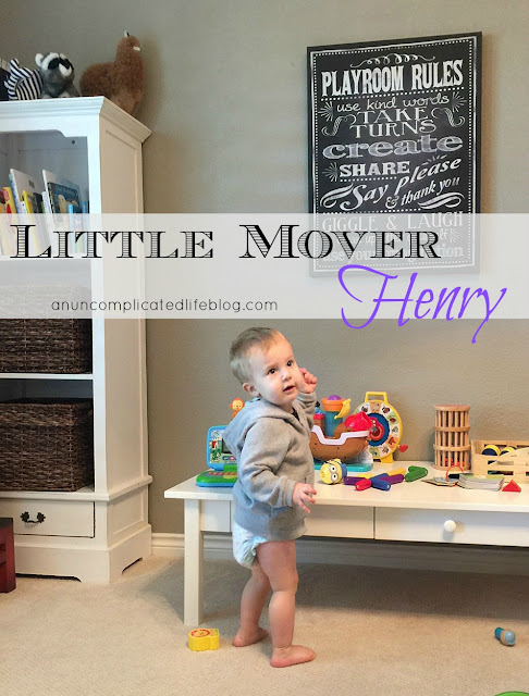 #SetBabyFree with Huggies Little Movers Diapers! https://ooh.li/d6c1e15