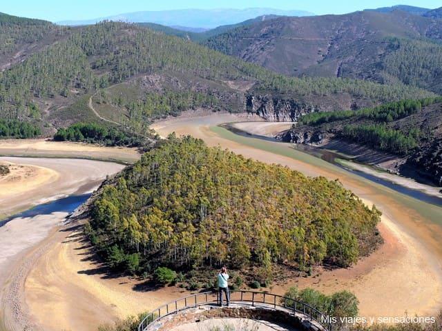 Meandro del Melero, Hurdes, Extremadura