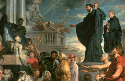 The miracles of Saint Francis Xavier