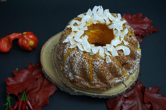 Kürbis-Kokos-Kuchen - Gugelhupf