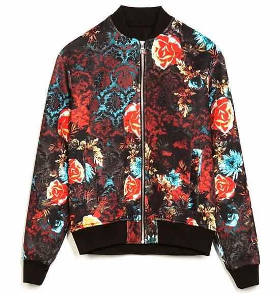 Understated Flowers – Flower Power Shorts & Bomber Jacket
