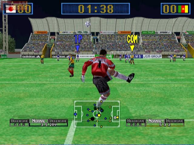 virtua striker 2 dreamcast