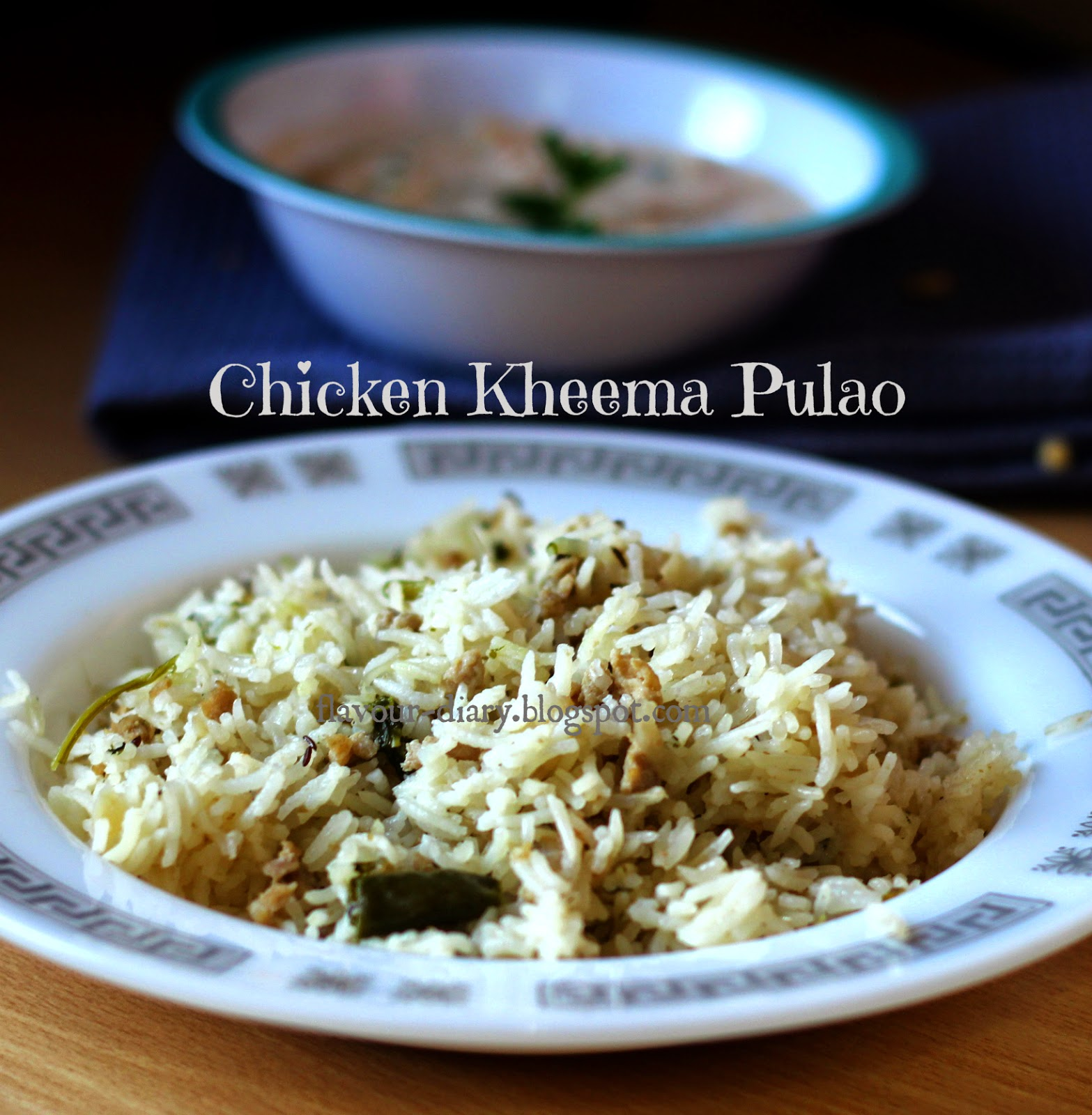 Chicken Kheem Pulao recipe