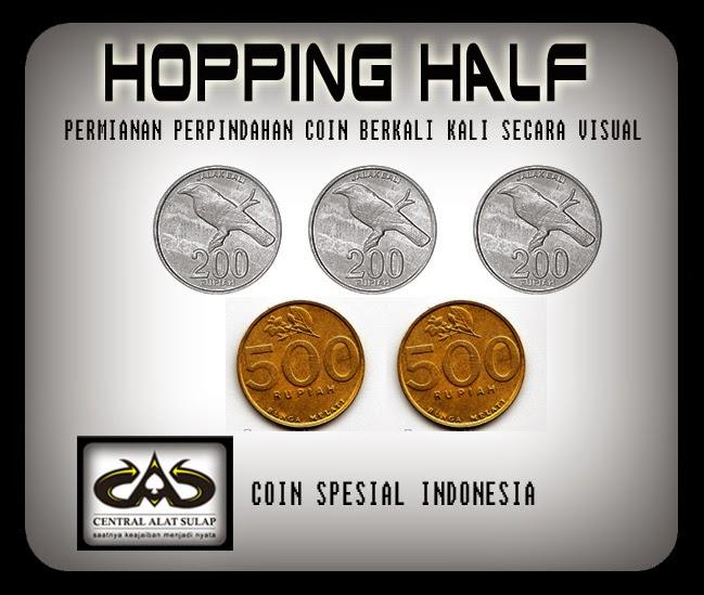 TOKO SULAP JOGJA Hooping Half Coin