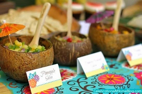 dicas comidas festa tropical