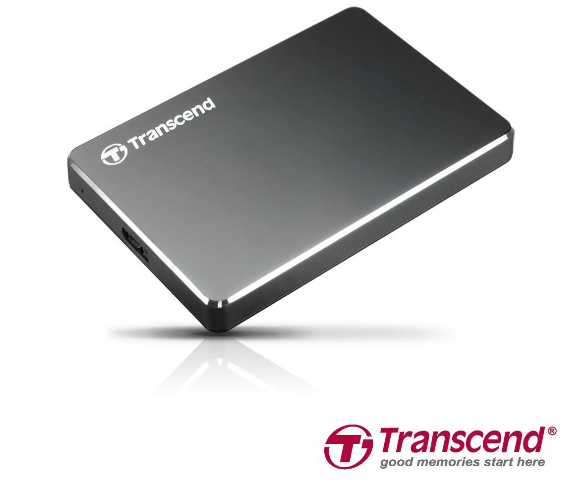 Transcend Extra Slim Portable Hard Drive