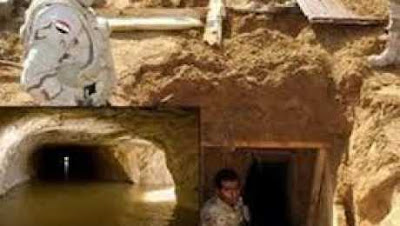 «مفاجأة كبرى» تحت الأرض يكتشفها الجيش المصري خلال عمليات تطهير سيناء من الارهاب