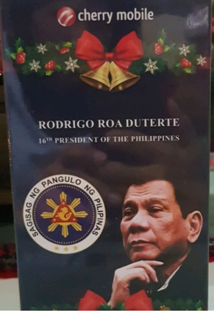 RARE: Limited Edition President Duterte Cherry Mobile Flare J2S - Mabzicle