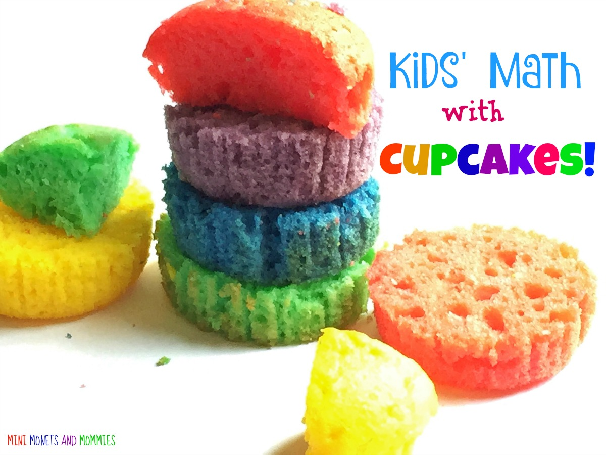 Mini Monets and Mommies: Colorful Cupcake Math for Kids! Really!