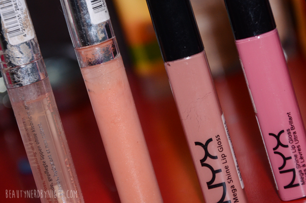 Current Favourite Lip Glosses |