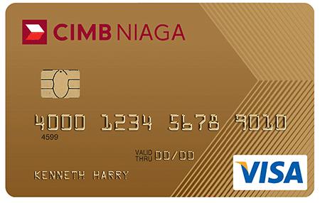 Kartu Kredit CIMB Niaga Gold