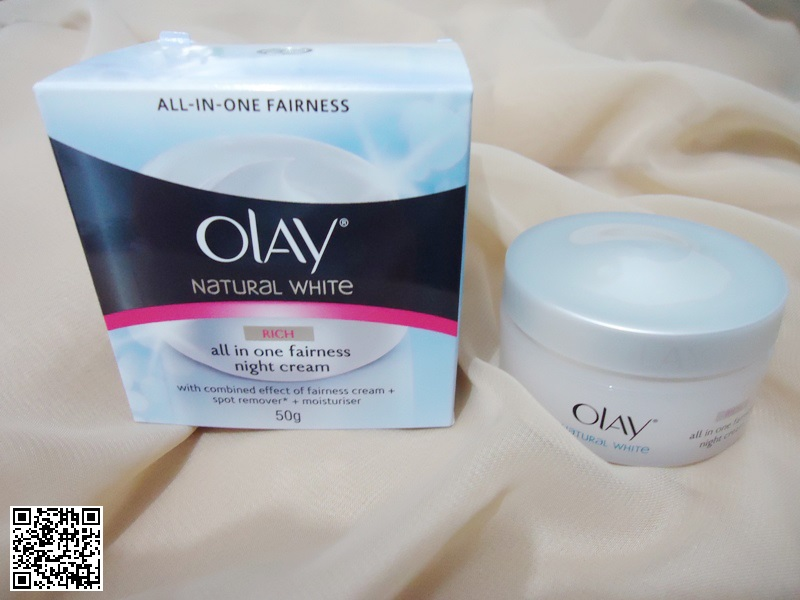 Beauty Review: Olay Natural White Day-and-Night Cream