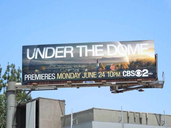 Under the Dome season 1 billboard