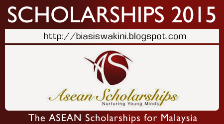 ASEAN Scholarships 2015 for Malaysia