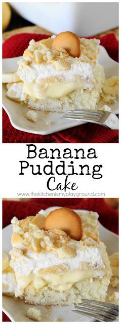 Banana Pudding Poke Cake Image