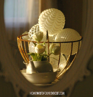 salvaged glass light globes home decor