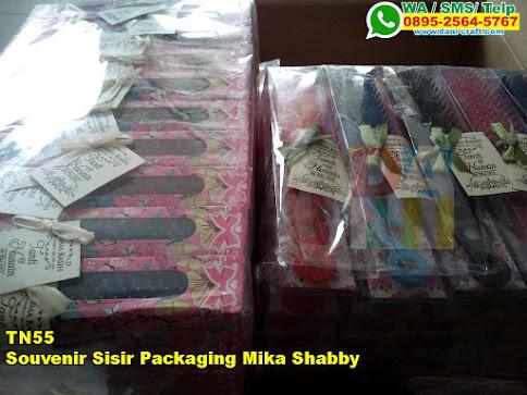 Harga Souvenir Sisir Packaging Mika Shabby