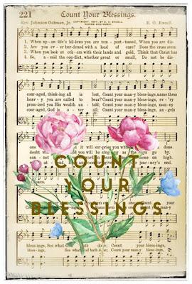 Free ~ Blessed Hymn Art