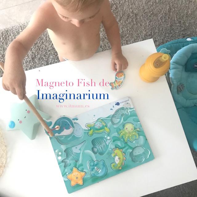 PUZZLE ENCAJABLE MAGNETICO DE IMAGINARIUM,