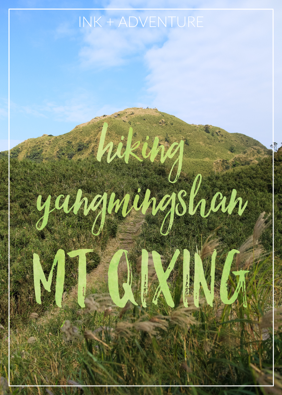 Mount Qixing, or Seven Star Mountain, is the highest peak in northern Taiwan. hiking up to the 1,120 meter peak is a steep climb but the views of Taipei and surrounding Yangmingshan National Park are worth the sweat!
