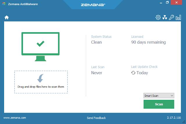 Zemana AntiMalware Premium 2.74.2.150 + License Key ! - LuizPC