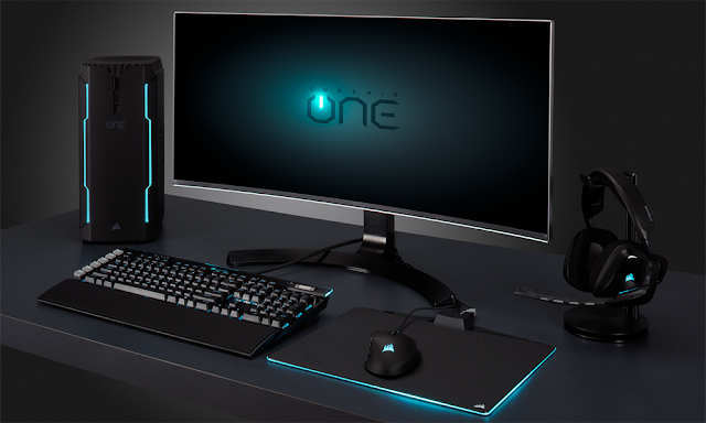Corsair ONE: Corsair's first gaming PC unites the Core i7-7700k with the GTX 1080 in the best format