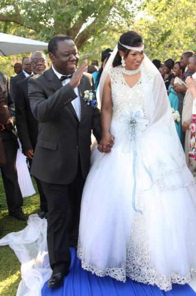 Zimbambwe Minister Morgan Tsvangirai Wedding