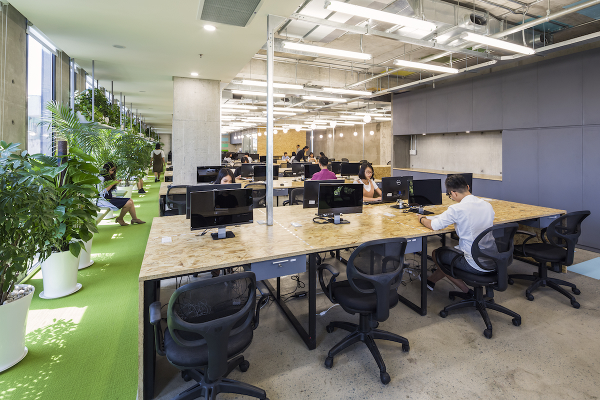 Office Design For A Company In Ho Chi Minh City