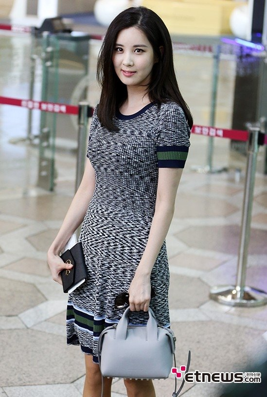 seohyuns simple and elegant airport fashion daily k