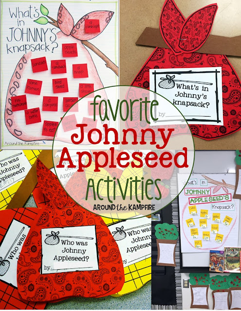 Favorite fall Johnny Appleseed activities for John Chapman's birthday, Johnny Appleseed day Sept. 26