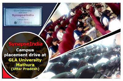 SynapseIndia Campus Placement Drive at GLA