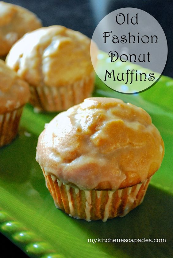 If you love an Old Fashioned Donut, you will adore these muffins. This recipe turns out perfectly dense and rich every time and is an easy breakfast muffin recipe