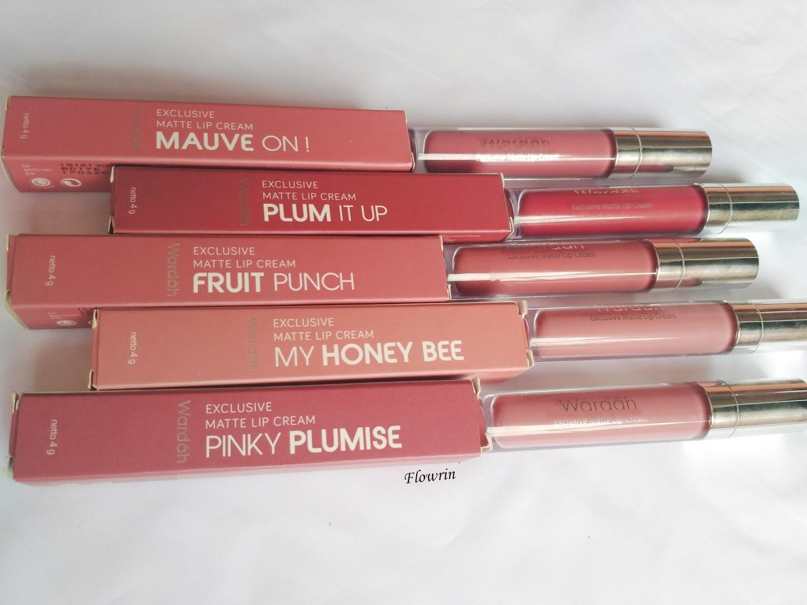 Flowrins Note Review Wardah Exclusive Matte Lip Cream No 912 La Tulipe Stay Lipcream Atau Latulipe Comparison