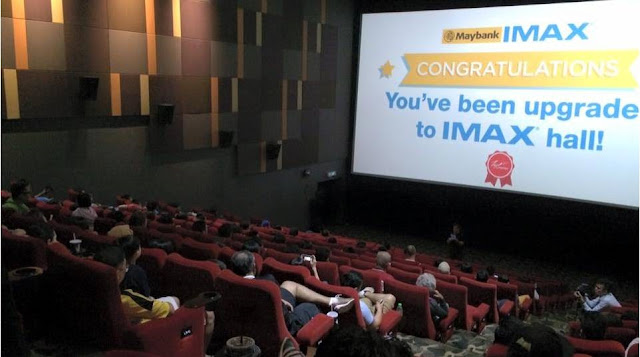 tgv surprise imax upgrade batman v superman
