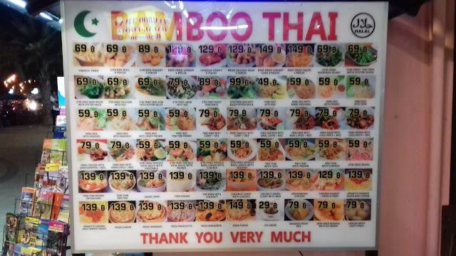 Makanan Halal di Krabi : Restoran Bamboo Thai