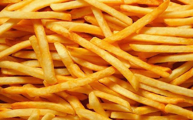 Goudgele friet patat