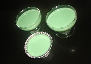 Silky Pudding Green Tea