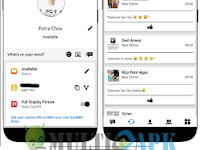 BBM Mod iOS Theme Standard Version 2 v3.2.0.6 Apk