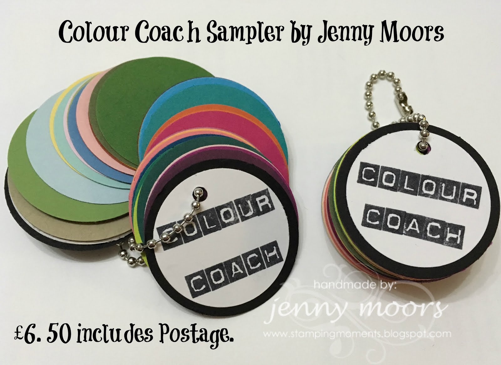 Stampin' Up! Colour Coach Keyring £ 6.50 each