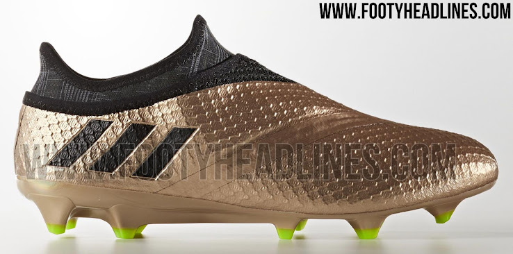 copper metallic adidas messi turbocharge 2017 boots