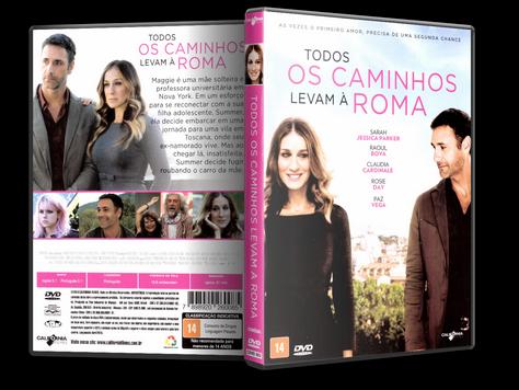 Capa DVD Todos os Caminhos Levam à Roma (Oficial)