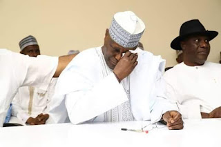 atiku crying