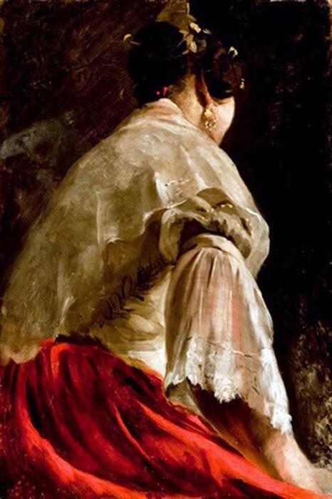 Valencianas pintadas ignacio pinazo camarlench - Pintor valenciano ...